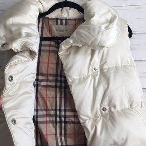 Burberry Puffer Vest
